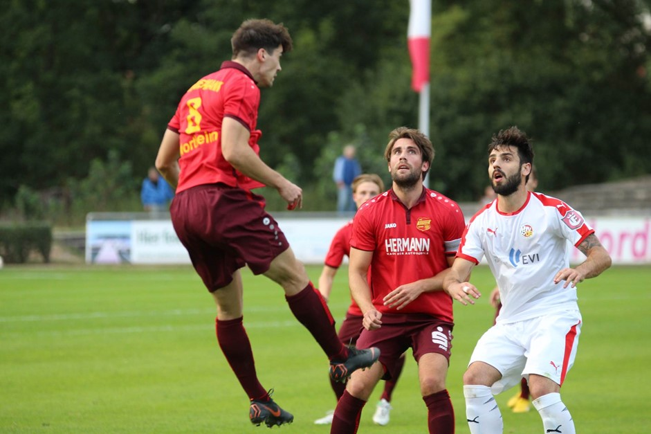 Auswärtsspiel beim VFV Hildesheim