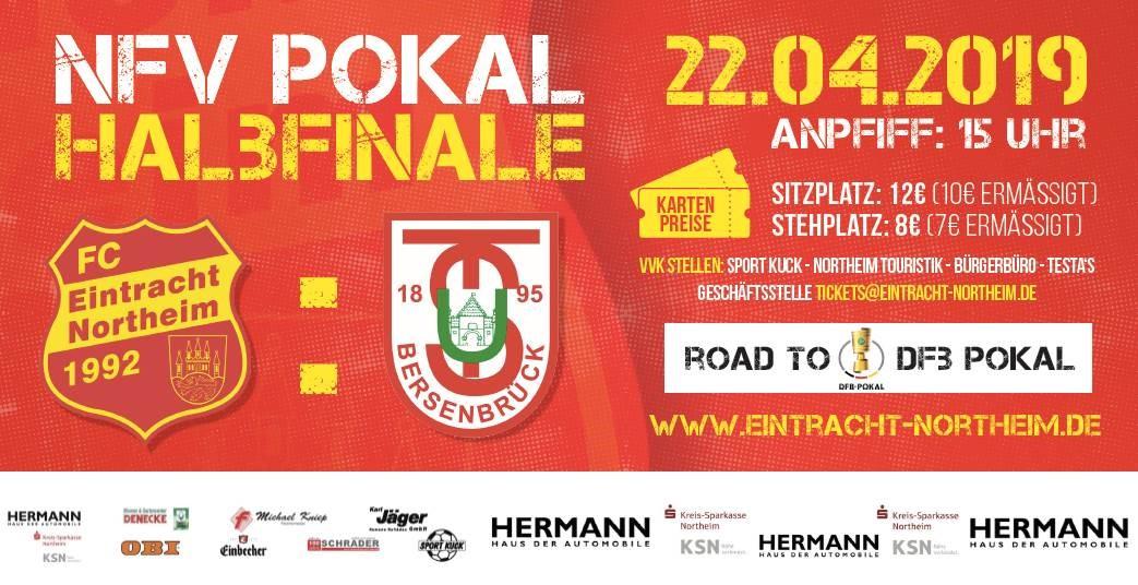 Informationen zum NFV-Pokal Halbfinale