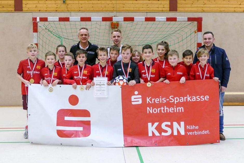 Eintracht U12 Hallenkreismeister 2018/2019