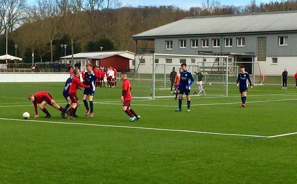 Unentschieden für die U16 zum Auftakt