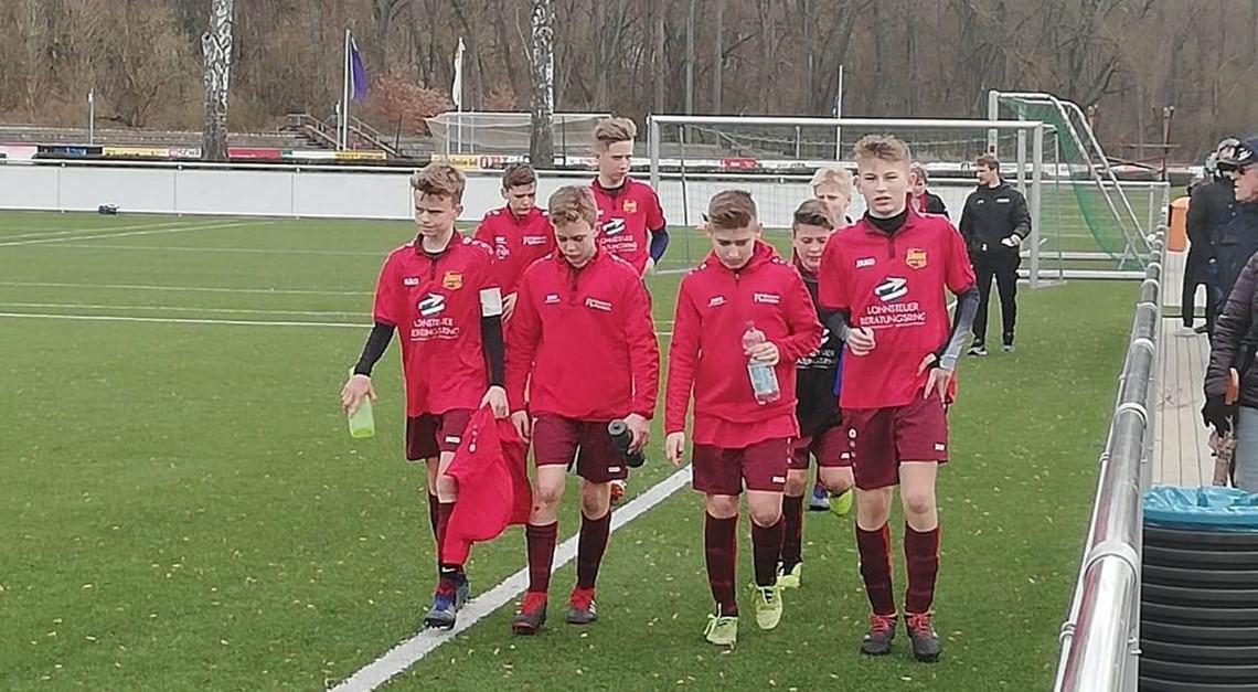 Sichtungstraining beim FC Eintracht