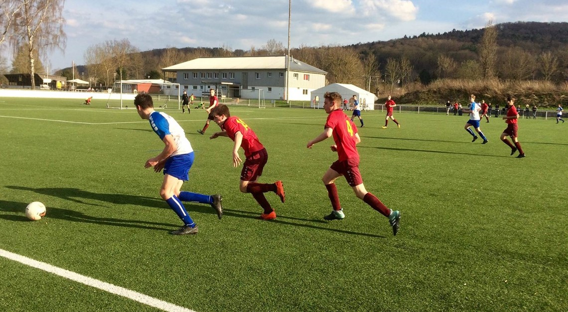 Punkteteilung der U16 im Kreisderby