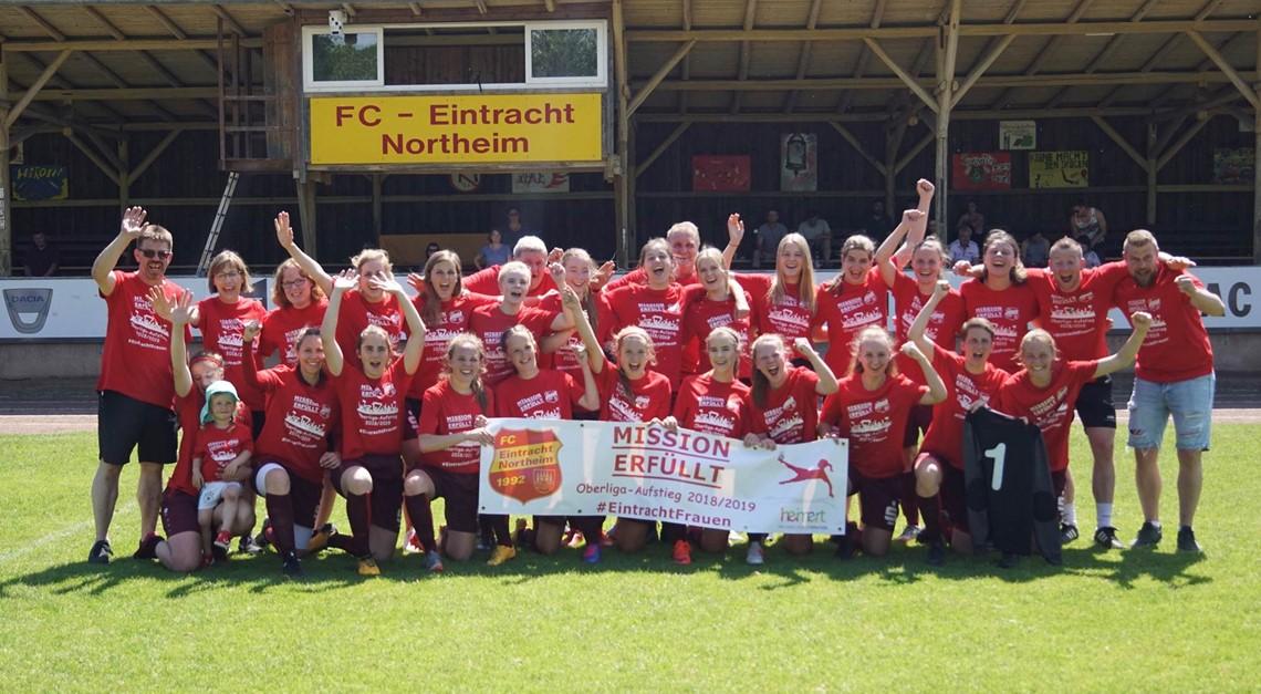 EintrachtFrauen mit Heimsieg in die Oberliga