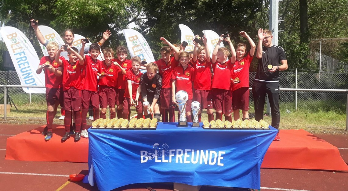 U12 belegt 3. Platz bei internationalem Turnier