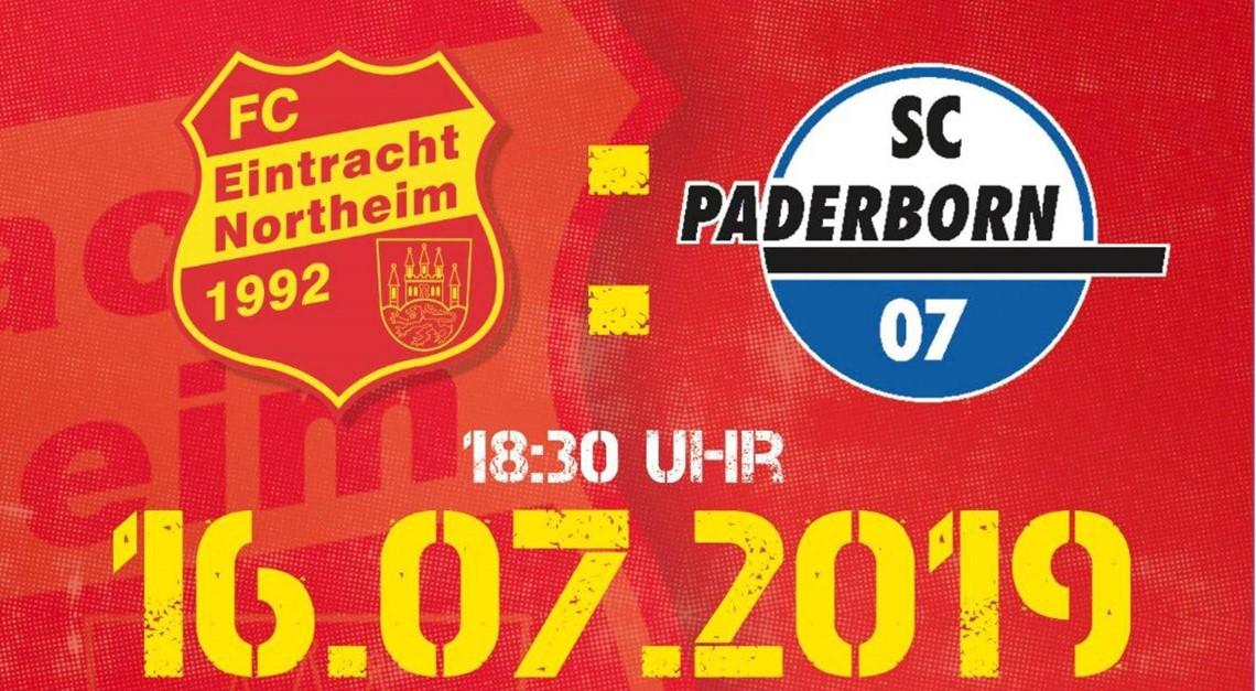 Bundesligist SC Paderborn zu Gast