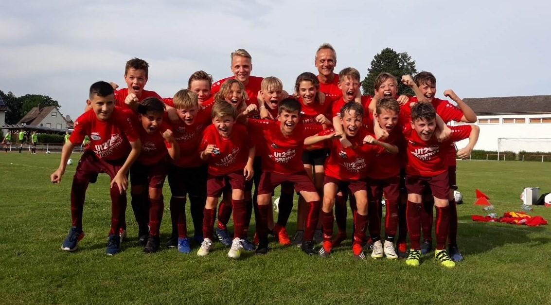 Eintracht U12 Kreismeister 2019