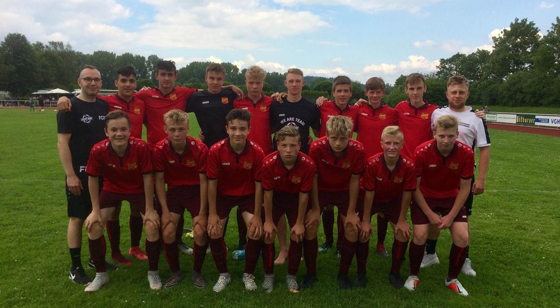 Eintracht U16 zum Saisonende auf Platz 3