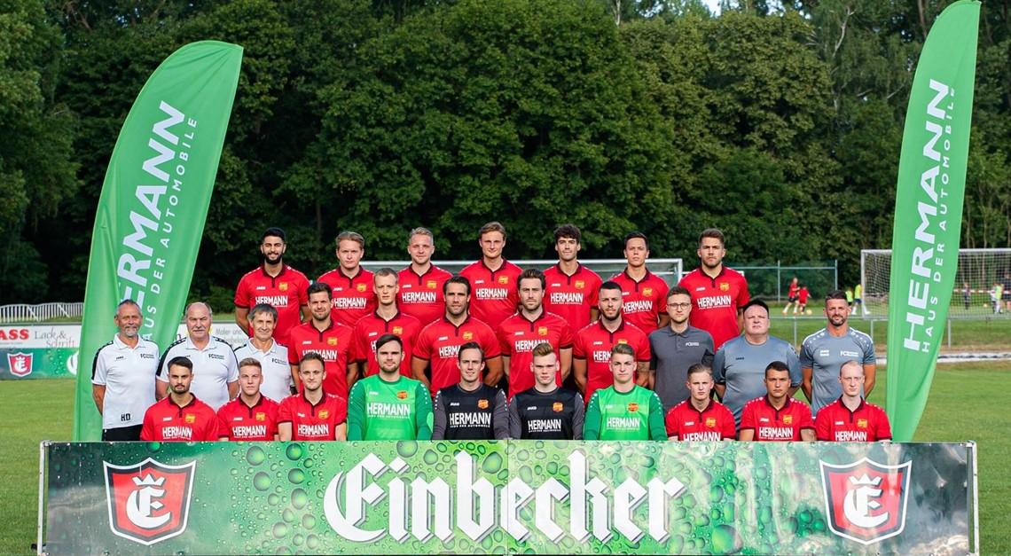 Oberliga Vorbereitung läuft!