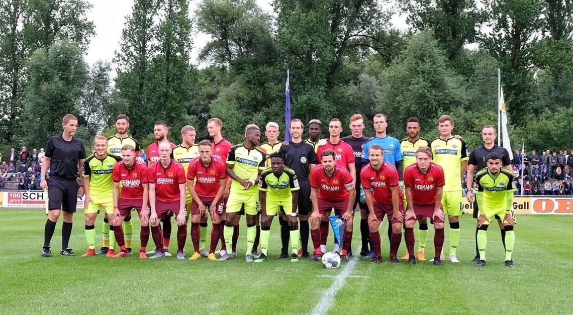 Guter Auftritt gegen SC Paderborn