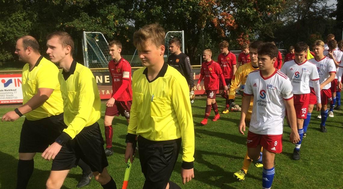 Eintracht U17 gelingt Auswärtscoup