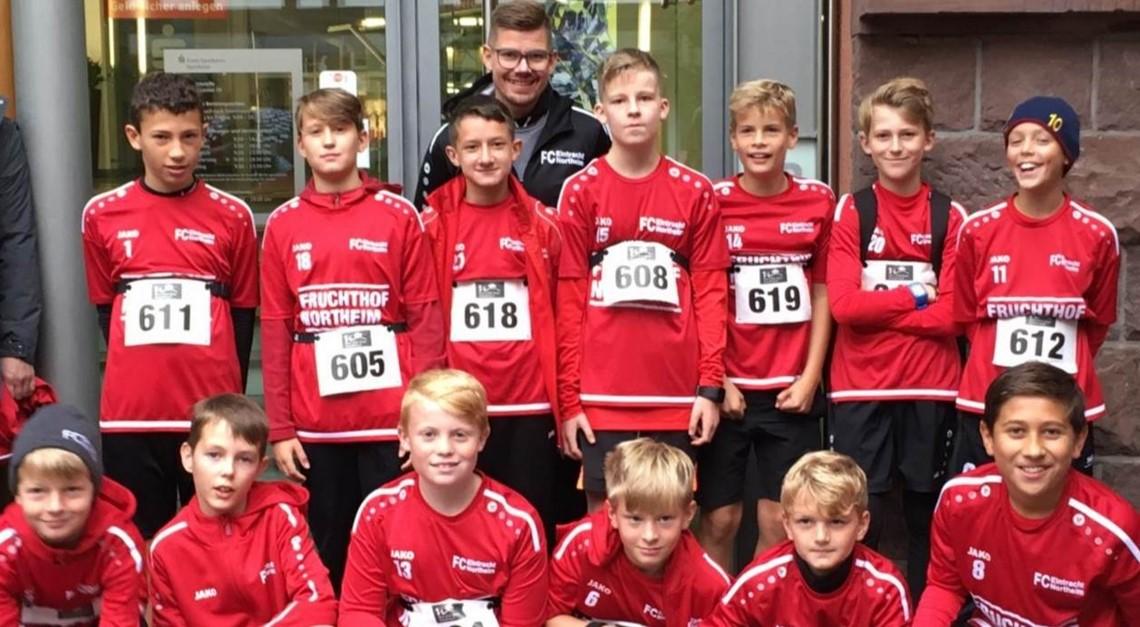 Eintracht U12 auch neben dem Platz erfolgreich!