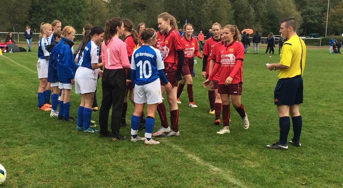 C-Juniorinnen für Pokal-Viertelfinale qualifiziert
