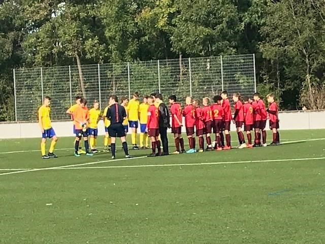 U14 verliert gegen BVG