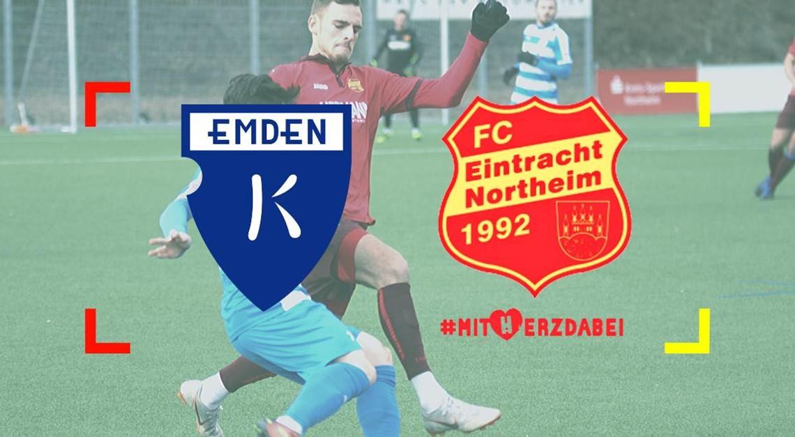 Nachholspiel bei Kickers Emden FÄLLT AUS!
