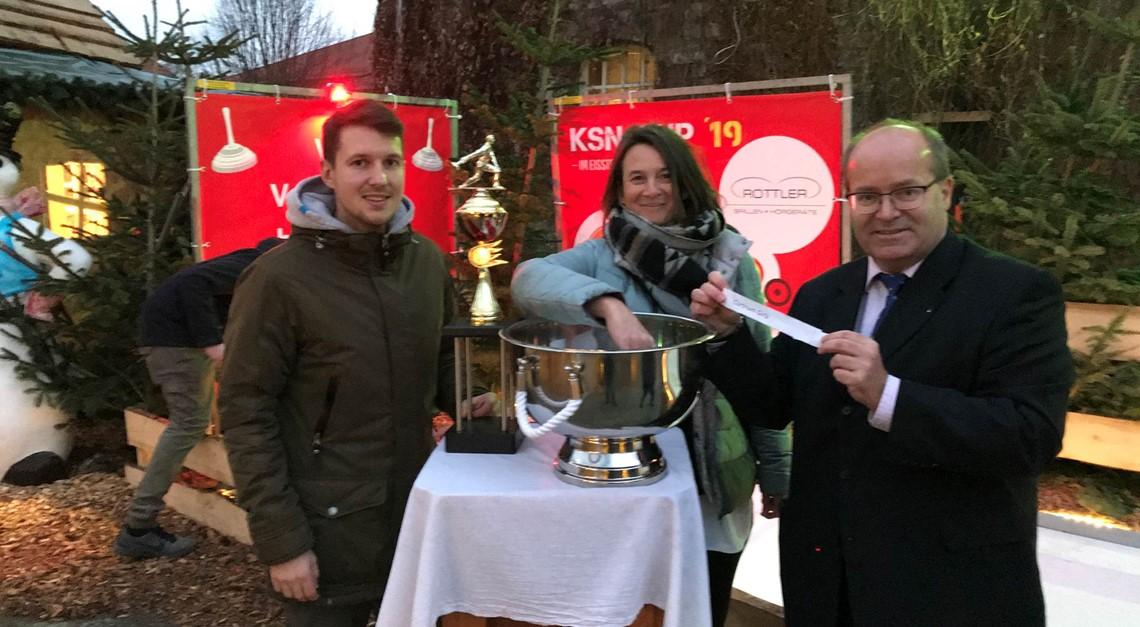 Finalauslosung KSN-Cup im Eisstockschießen