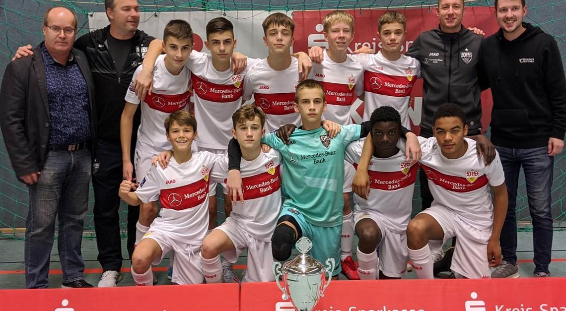 VfB Stuttgart gewinnt KSN+VGH JuniorCup 2019