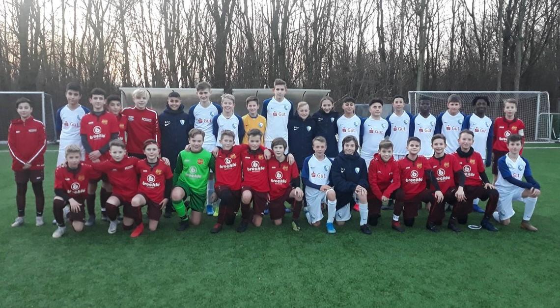 U13 misst sich mit dem VfL Bochum