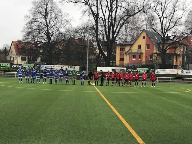 Vorbereitungsspiel der U14 endet Unentschieden