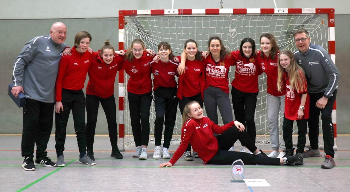 Northeims C-Juniorinnen sind Hallen-Regionsmeister