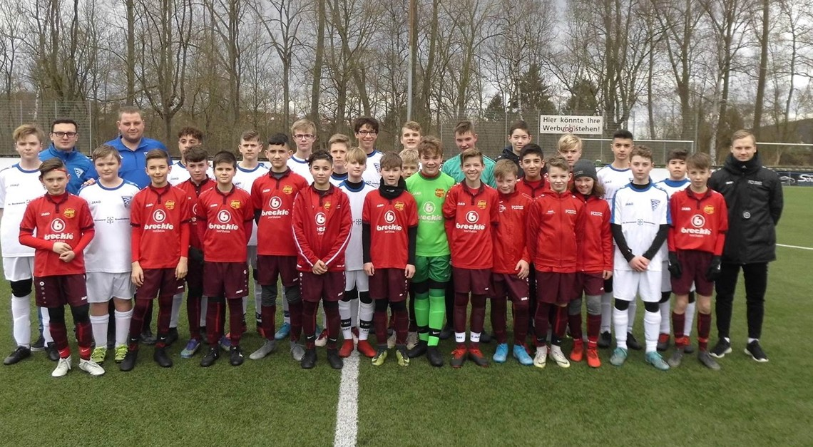 U13 testet gegen SV BW Neuhof