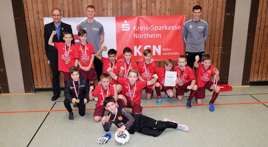 Eintracht U11 ist Hallenkreismeister!