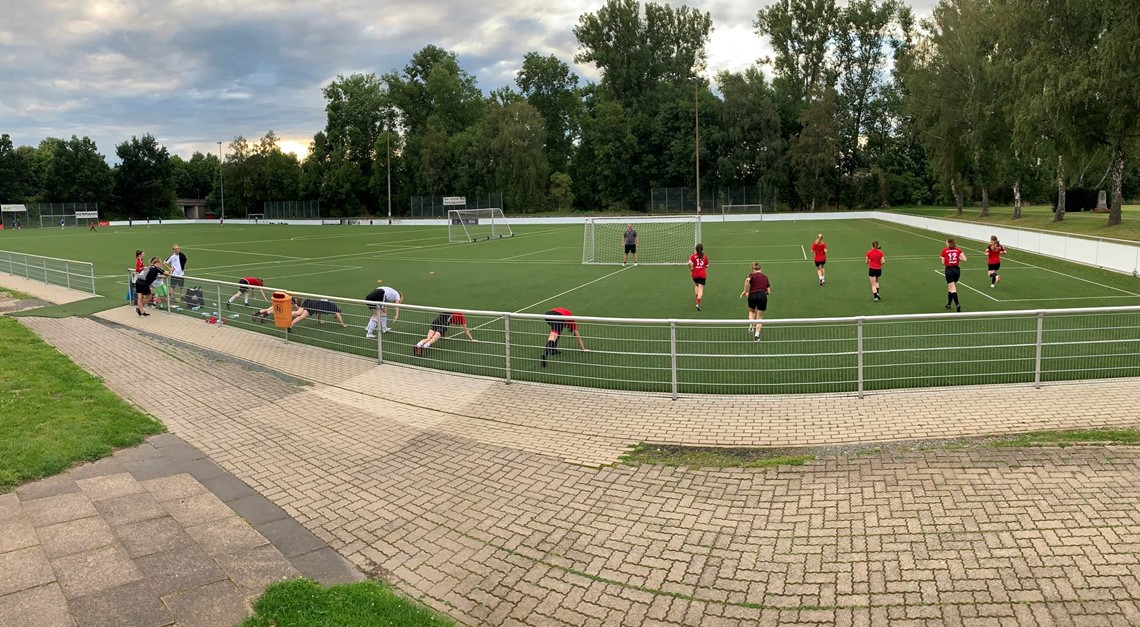 2. Frauen starten Mission Landesliga