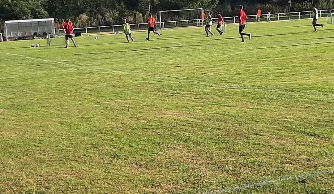 Testspiel gegen JFV Hameln