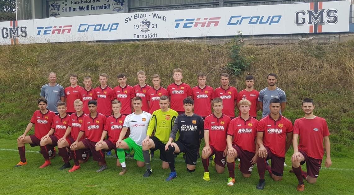 Trainingslager der Eintracht U19