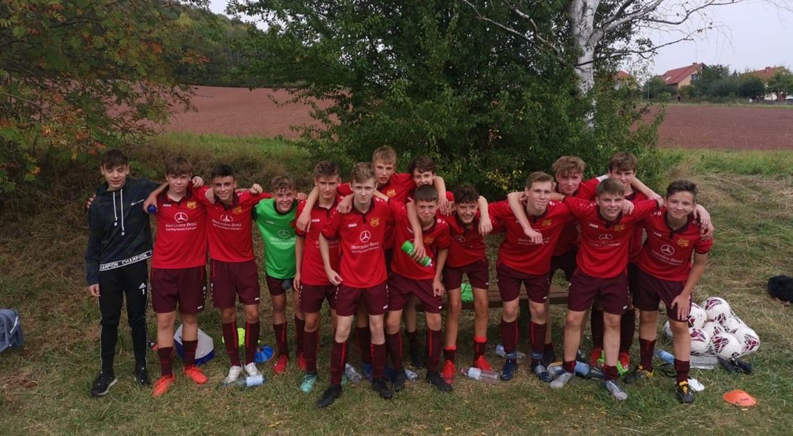 U16 feiert Auswärtssieg gegen FC Gleichen
