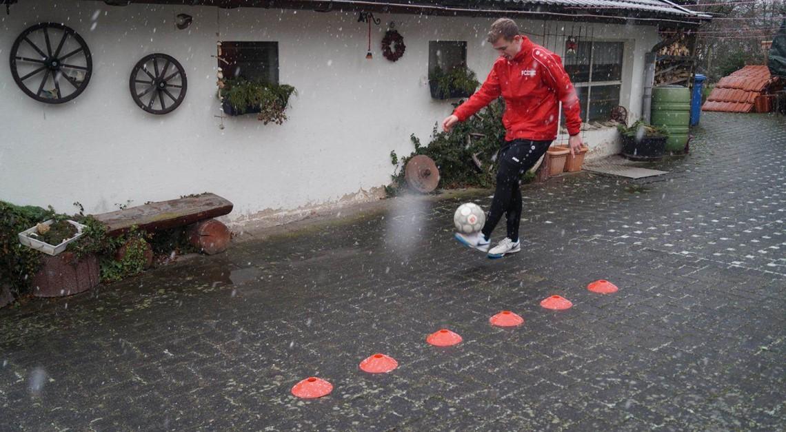 Training mit Hendrik Kabelitz und Jannis Junge