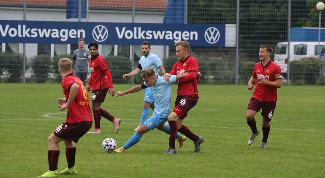 Niederlage in Wolfsburg