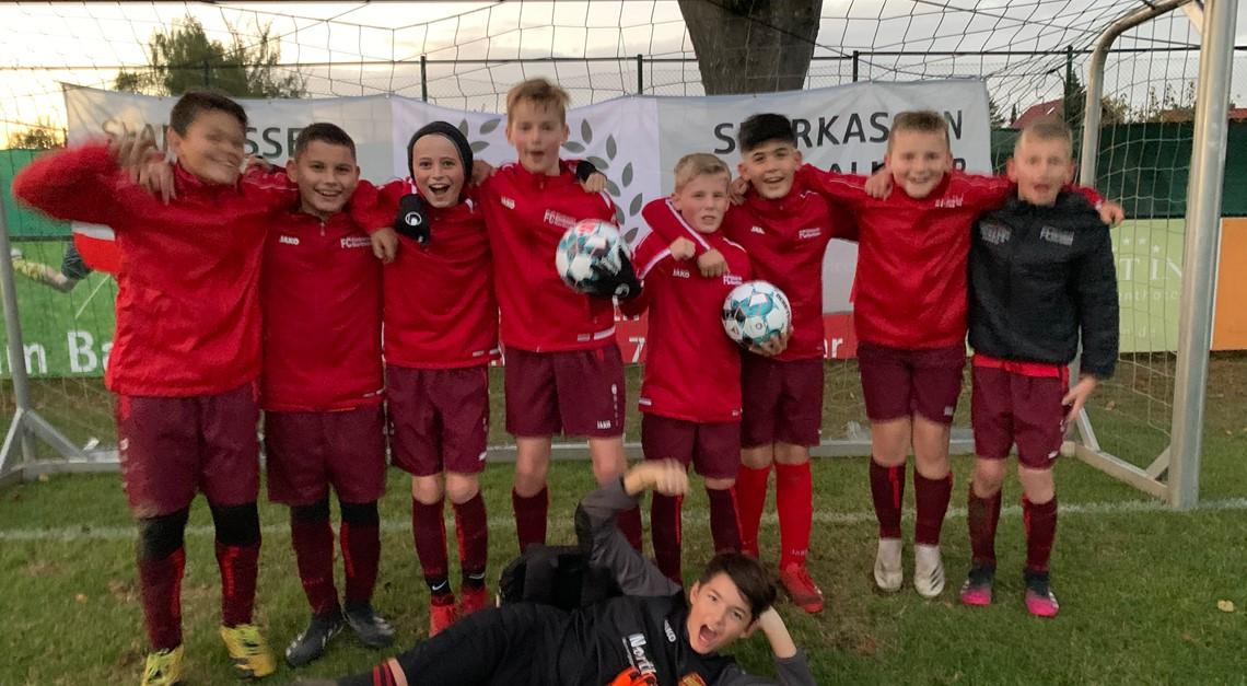 Eintracht U12 gewinnt Sparkassen-Cup