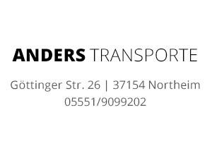 Sponsor - Anders Transporte