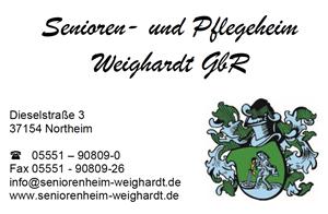 Sponsor - Senioren und Pflegeheim Weighardt