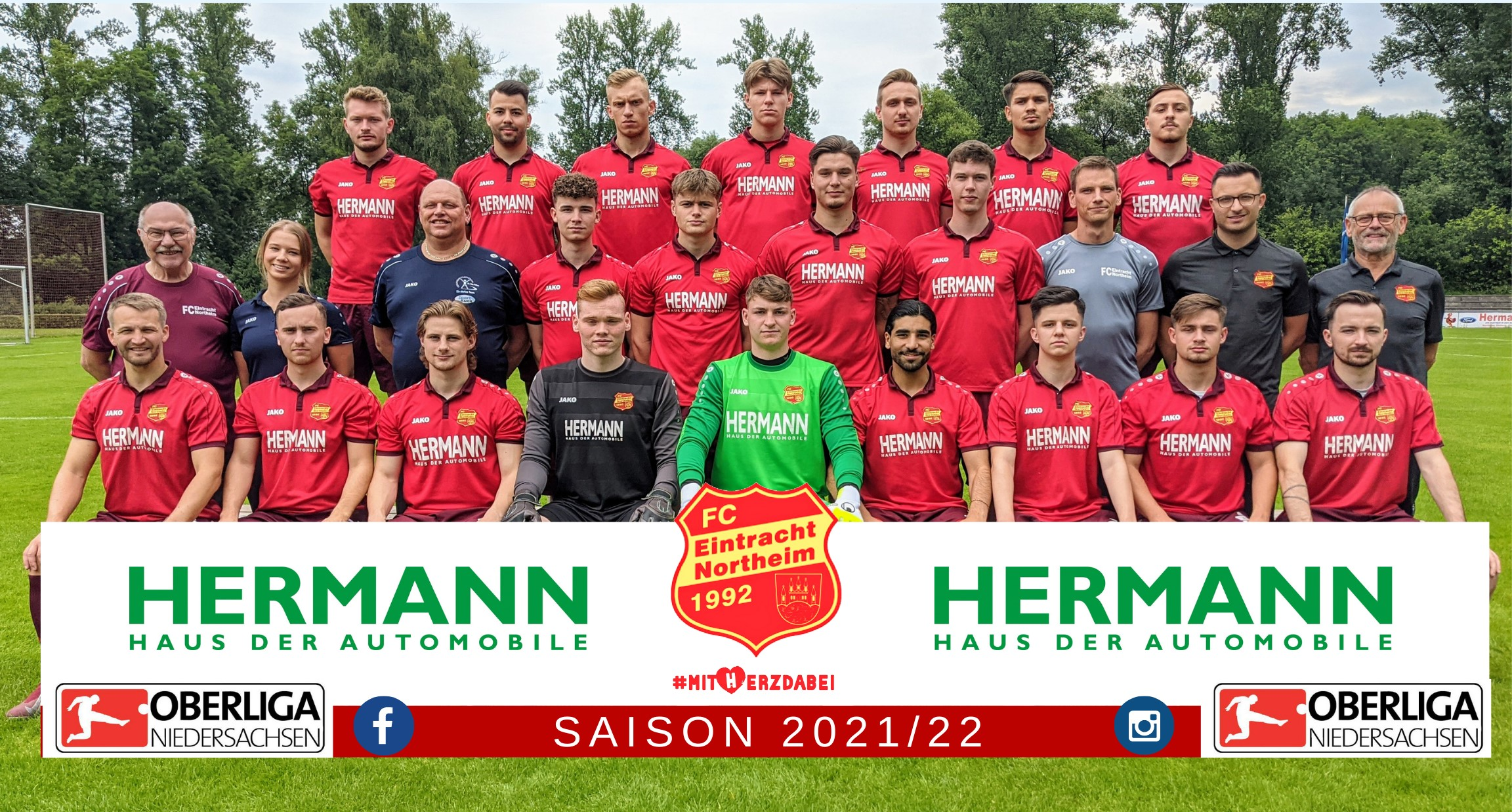 Mannschaftsfoto FC Eintracht