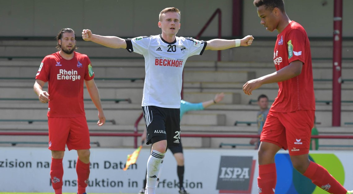 1:1 gegen den 1. FC Köln II