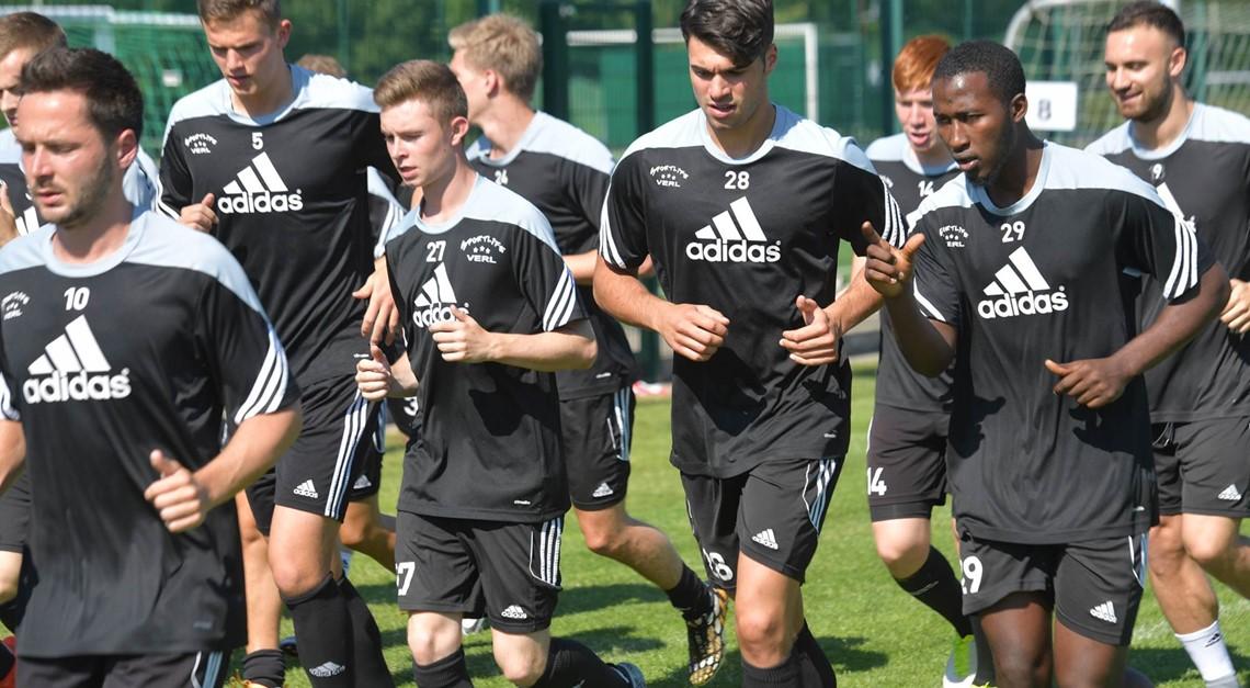 Testspiel gegen den SC Herford
