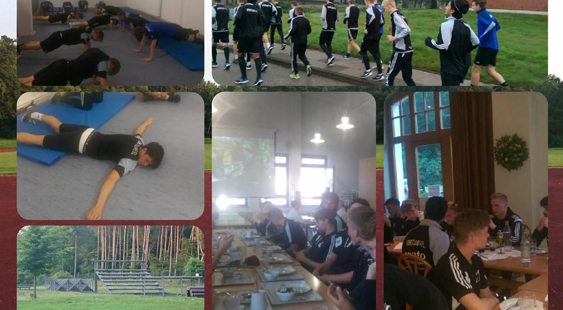 Trainingslager der U19