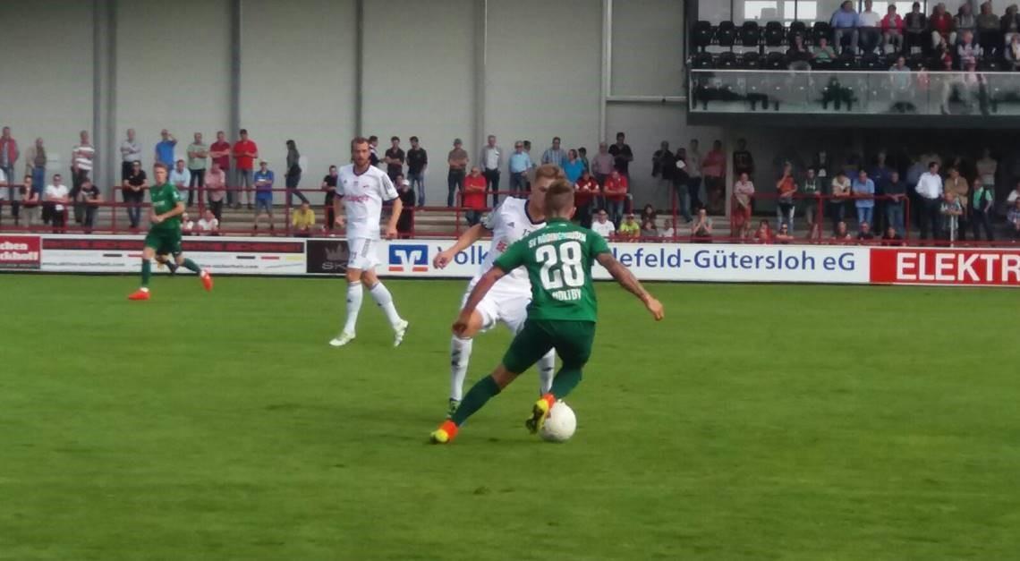 SPORTCLUB empfängt den SV Rödinghausen