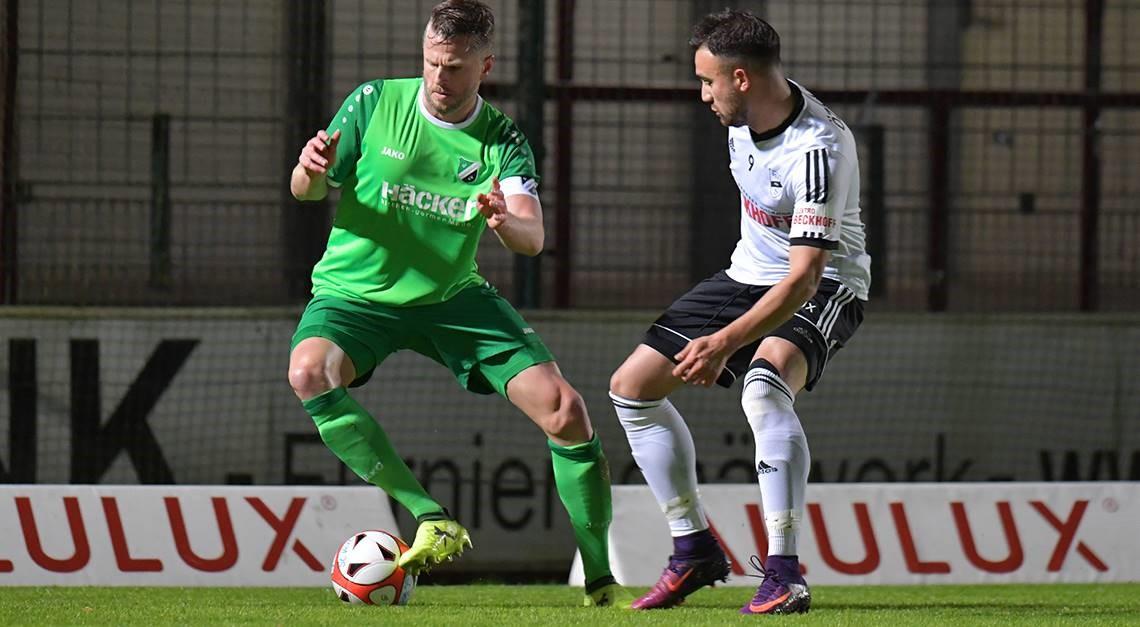 Sechs Tore im Spiel gegen SV Rödinghausen