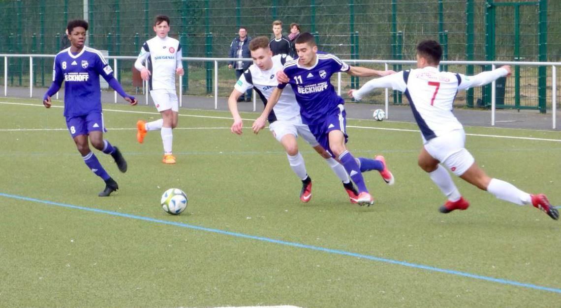 U17 im Pokal erfolgreich