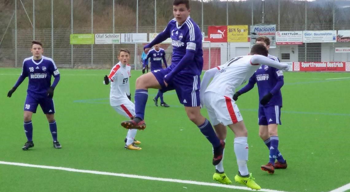 U17: 1:1-Unentschieden gegen Iserlohn