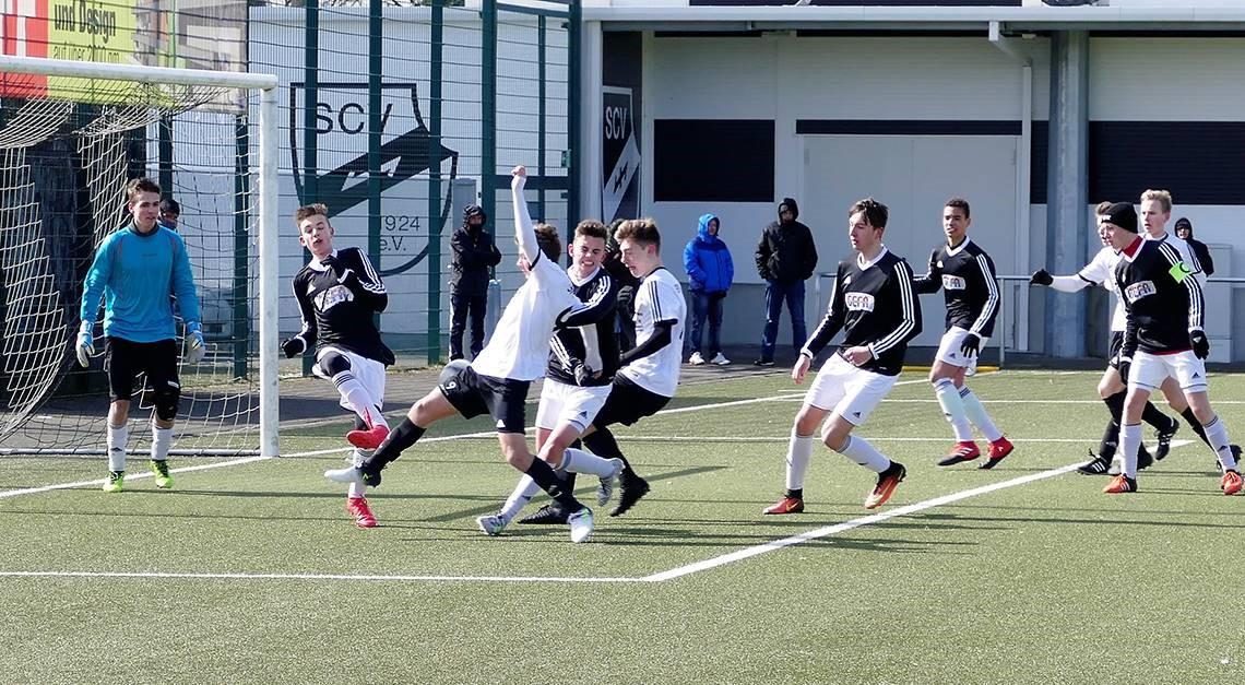 U16: Zwei Spiele, zwei Siege, neun Tore