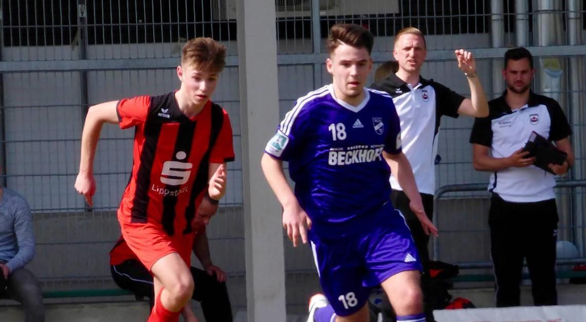 U17 gegen SV Lippstadt 08