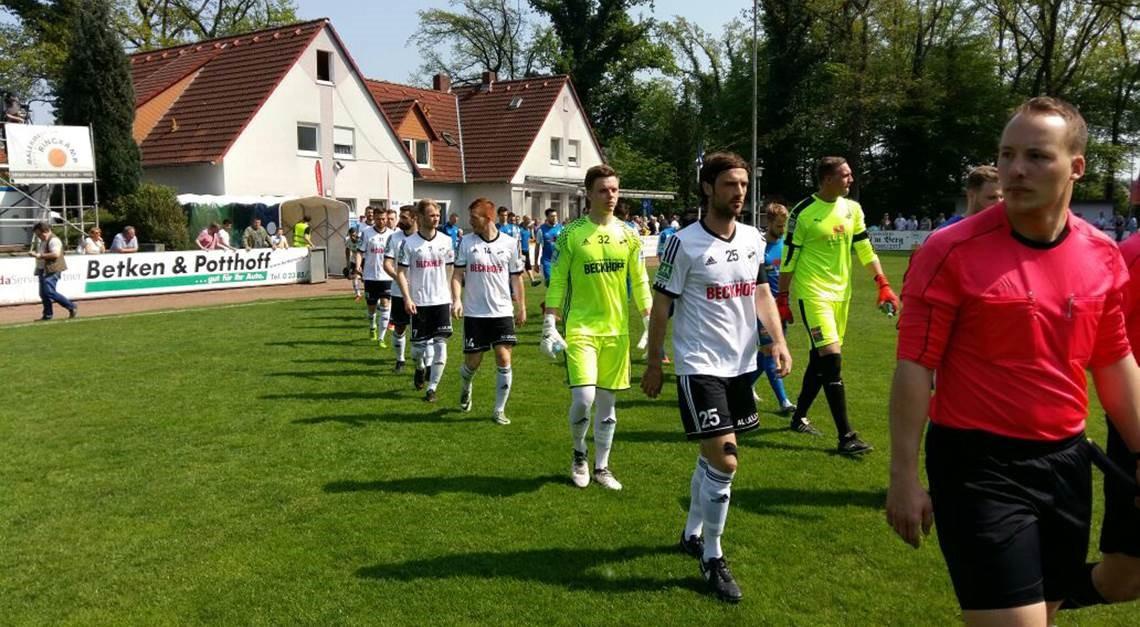 3:0-Sieg bei Westfalia Rhynern