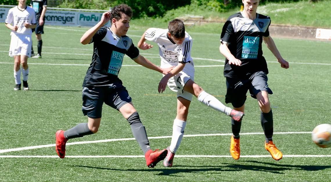 U16 im letzten Auswärtsspiel siegreich