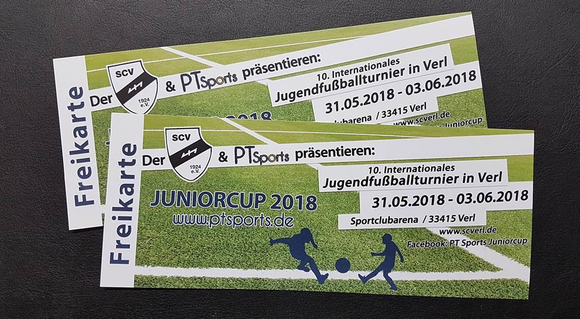 Der PT Sports Juniorcup - Es gibt Freikarten ...