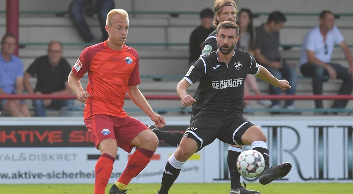 1:1 gegen den SC Paderborn 07