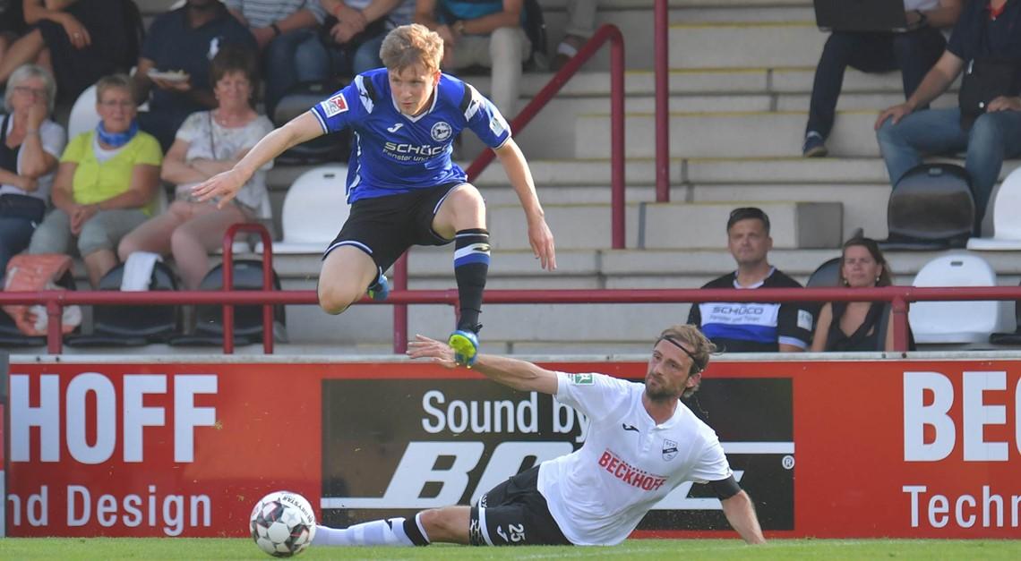 Aus dem 0:5 gegen Arminia Bielefeld Lehren ziehen