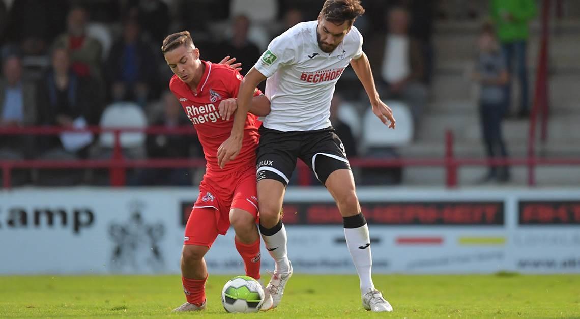 1:1 (1:1) gegen die U21 vom 1. FC Köln